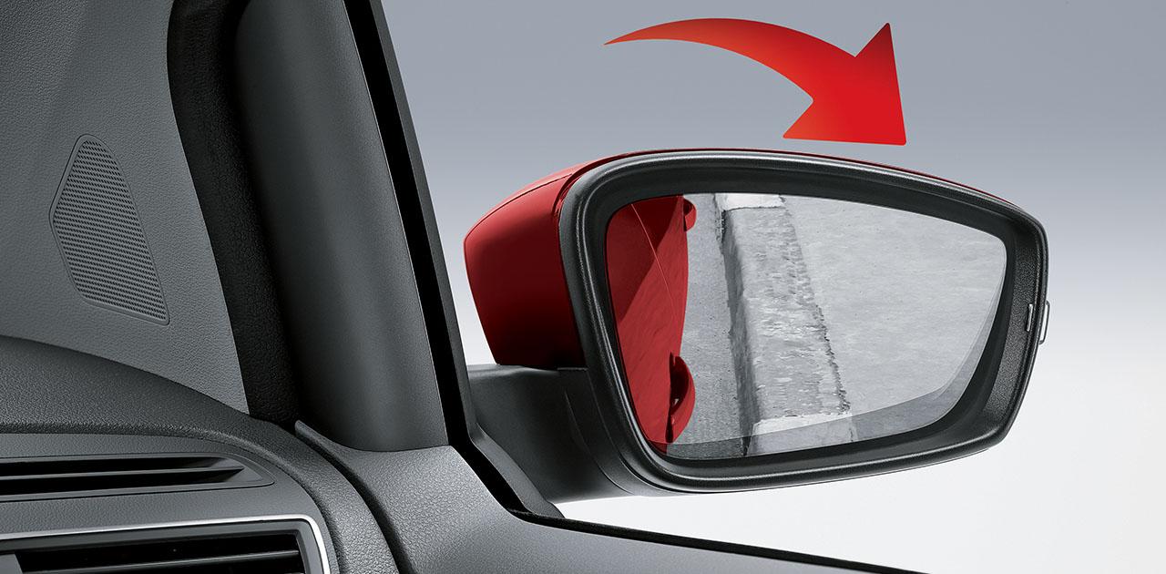 Dietrich VW Volkswagen Suran Cross espejo